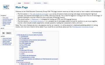W3C Community Education