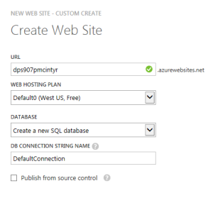 CreateWebSiteAndDatabasePanel1