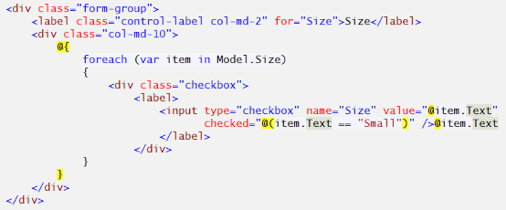 ASP NET MVC view – Bootstrap styles for HTML select and