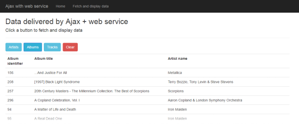 web-service-album-list